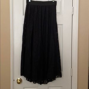 NWOT- Black Lace Lucy